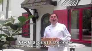 Gazpacho Soup with Chef Jacques Haeringer L'Auberge Chez Francois