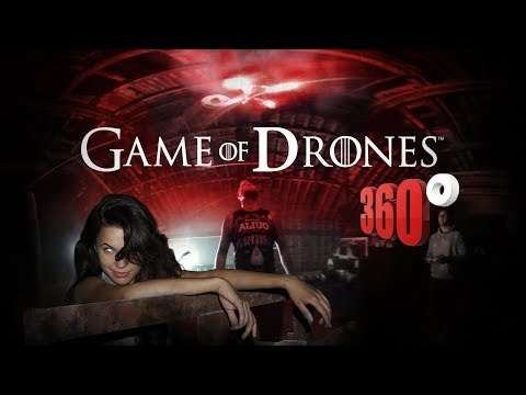 GAME of DRONES - IMMERSIVE 360° VIRTUAL REALITY VR VIDEO GAME