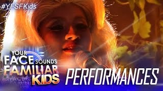 Your Face Sounds Familiar Kids: Elha Nympha as Dolly Parton - I Will Always Love You