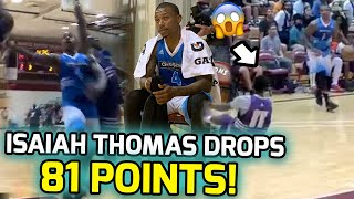Isaiah Thomas Scores 81 POINTS & SNATCHES ANKLES Wearing Kobes! NBA Teams NEED HIM! 🚨