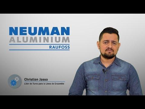 Trabajando en Raufoss - Christian Jasso