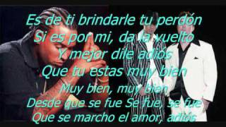 Dile a Ella - Magnate y Valentino ft. Don Omar Lyrics