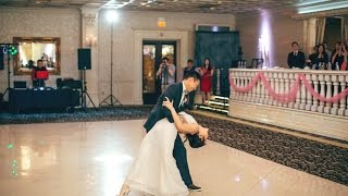 """Christa & Enoch's 1st dance: Bruno Mars """"Just the Way You Are"""" West Coast Swing & Hustle (Pitbull)"""