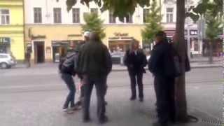 muž v Praze napadl revizory