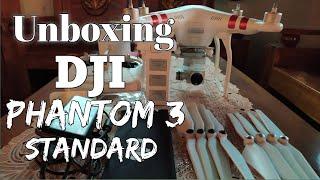Unboxing Drone DJI PHANTOM 3 STANDARD || Harga Murah Meriah...