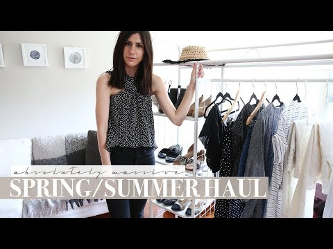 MASSIVE Spring & Summer Holiday Haul – J Crew, Revolve, Everlane, Zara etc | Mademoiselle