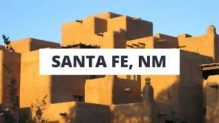 Santa Fe, New Mexico - город в адоби-стиле