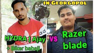 Razer Blade vs H¥DRA | AJAY vs  fight in Georgopol; Razer Called Ajay's teammate 'Hacker' |Emulator|