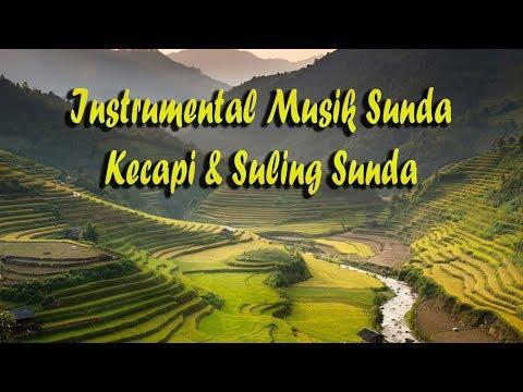 gratis download video - Instrumental Musik Sunda dengan Kecapi dan Suling Dipadukan Kicau Burung dan Alam