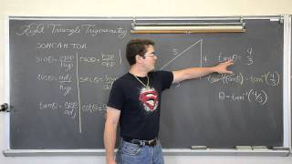 Right Triangle Trigonometry Part 2: Solving For Acute Angles