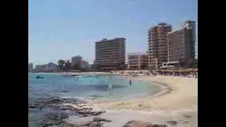 preview picture of video 'famagusta viewed from the beach'