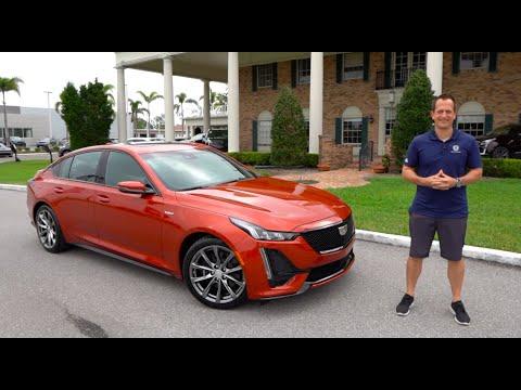 External Review Video Vmu7RpnVM1A for Cadillac CT5 Sedan