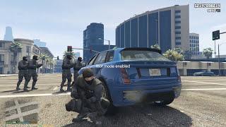 GTA 5 Riot Mod - SWAT và Cuộc chiến chống bạo động trong GTA 5