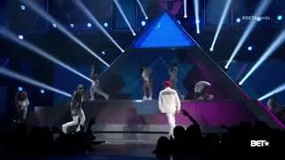 Chris Brown ft Tyga & Omarion BET Performance 2015