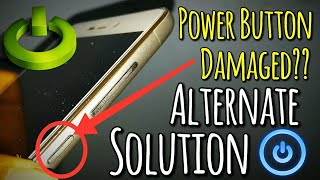 Power Button Damaged & Not Working Solution | Use Phone without Power Button | Hindi - हिंदी