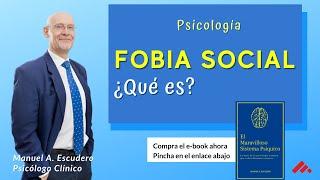 Fobia Social (parte 2/2) ¿Qué relación hay entre Ansiedad y Fobia Social? - Centro Manuel Escudero