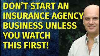 How to Start an Insurance Agency Business | Including Free Insurance Agency Business Plan Template
