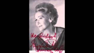 """Elisabeth Schwarzkopf """"Vier letzte Lieder"""" R. Strauss"""