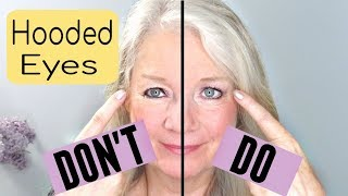 Dos And Donts For Hooded, Downturn Or Mature Eye Makeup