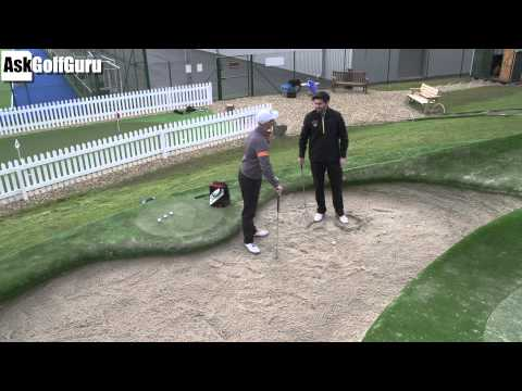 High Splash Golf Shot Bunker Lesson
