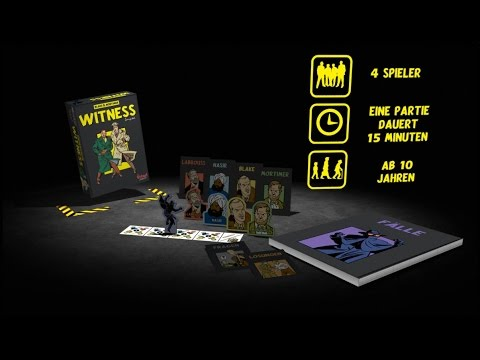Trailer B&M Witness - German version