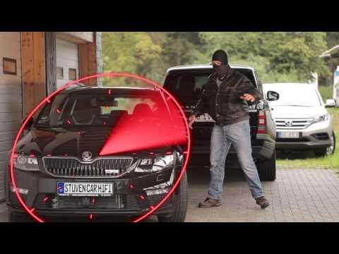 Skoda Octavia RS 2015 Test Alarmanlage Viper Skoda RS Versicherung Octavia RS Alarm deutsch