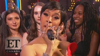 Cardi B Disses Nicki Minaj In MTV VMAs Speech