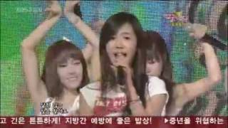 090327 SNSD @ Music Bank - Let's talk about love