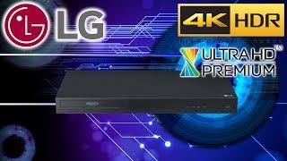 Hardware: LG UBK80 Ultra HD 4K Blu-ray-Player (mit HDR und Dolby Atmos) anschließen und erster Test