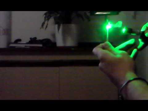 Laser Verde - Fiammifero