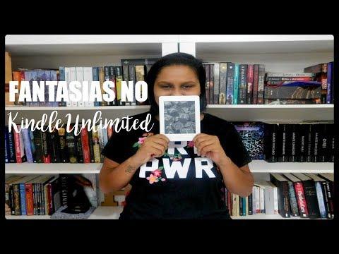8 livros de FANTASIA para ler com o KINDLE UNLIMITED | Jé Vasques
