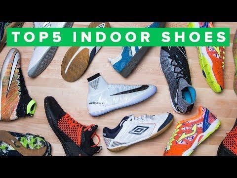 TOP 5 SHOES FOR INDOOR, FUTSAL & STREET FOOTBALL