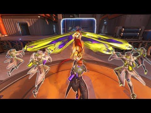 Moiras Six Laserbeam Strategy! [Overwatch]