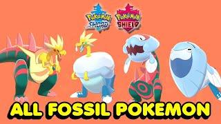 Arctozolt  - (Pokémon) - How To Get All 4 Fossil Pokemon In Pokemon Sword & Shield