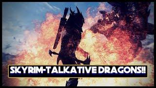 Talkative Dragons-Skyrim Mod Showcase!!