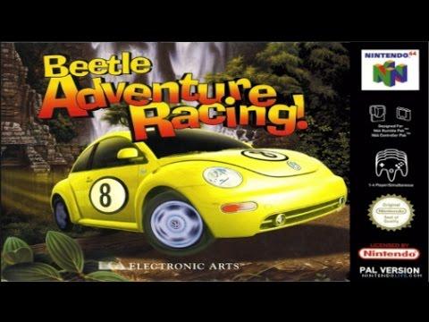 Beetle Adventure Racing - N64 (Gameplay)