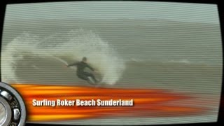 preview picture of video 'Surfing Roker Beach Sunderland'