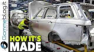 2018 RANGE ROVER Production - CAR FACTORY - How It