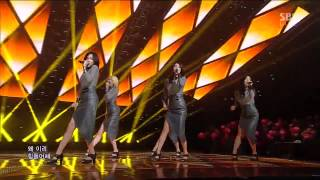 SPICA [Lonely] @SBS Inkigayo 인기가요 20130106
