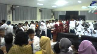 Pelepasan Kelas 9 SMPN 1 SEPATAN 2013