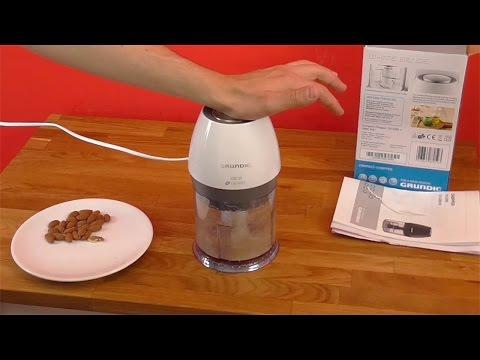 Produkt Test  Grundig Kompakt Zerkleinerer White Sense CH 6280 w