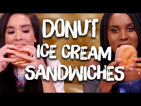 We Tried Ice Cream Donuts (Cheat Day)