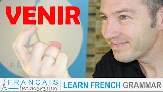 VENIR Conjugation & Meaning (to come) present tense + FUN! (Learn French Verbs with Fun)