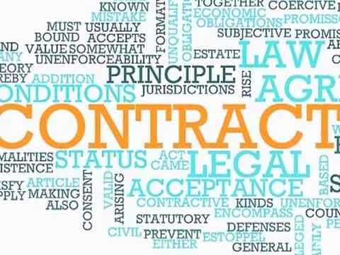Legal English Vocabulary VV 26 - Contract Law (Lesson 1) | Business English Vocabulary