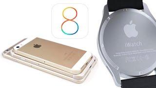 Когда выйдет в продажу iPhone 6, iWatch, iOS 8