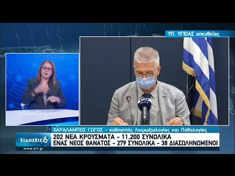 Η ενημέρωση από το υπουργείο Υγείας | 04/09/2020 | ΕΡΤ