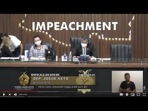 Assembleia reinicia os trabalhos do processo de  Impeachment