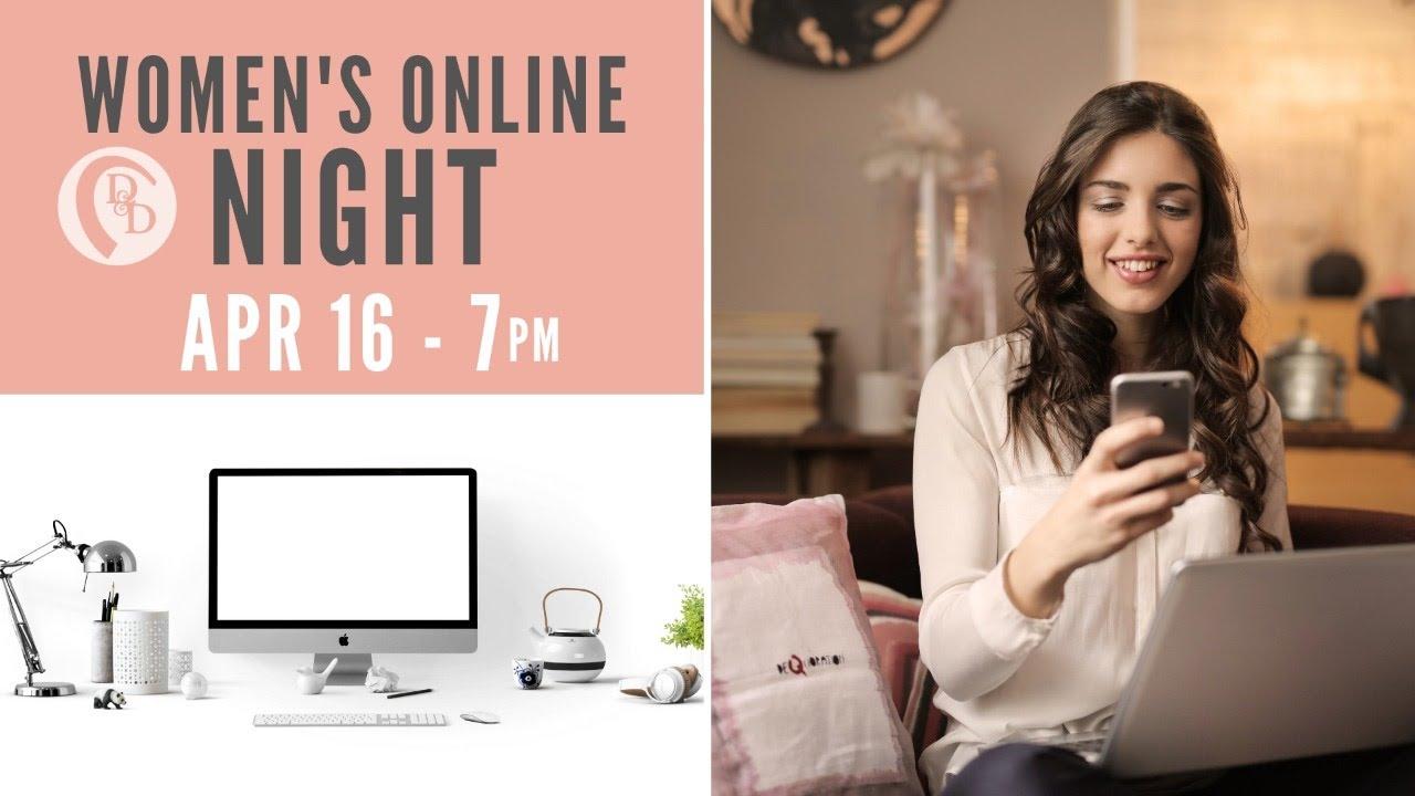 Women's Online Night