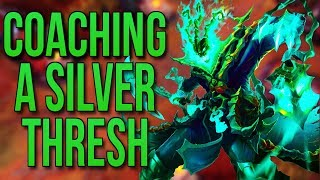 Coaching a Silver Thresh - League of Legends