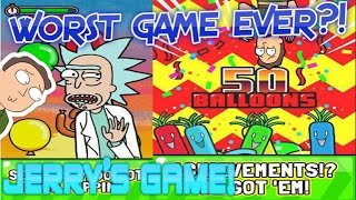 Jerry's Game - WORST GAME EVER?! - Just Pop The Balloons!